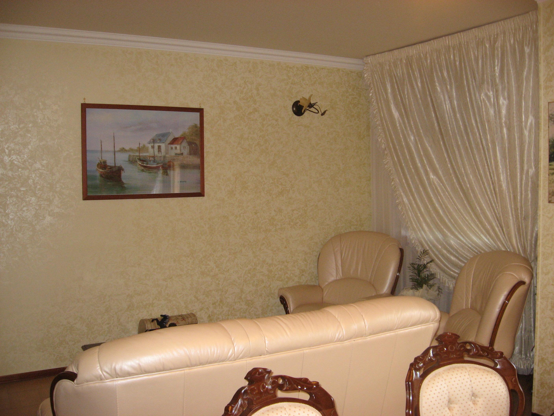 Pittura effetto spatolato per interni confortevole - Pittura interni ...